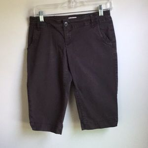 Mossimo brown capris